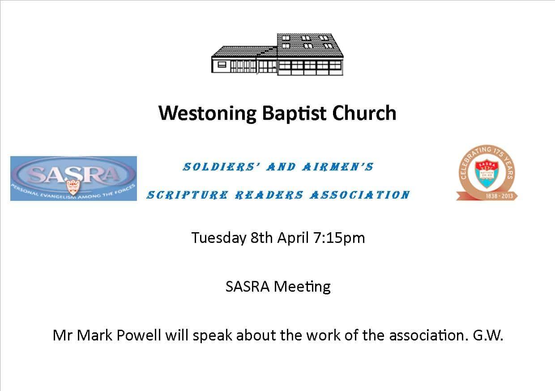 SASRA Meeting